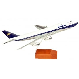 BOAC Boeing B747-100 Diecast Model - Scale 1:200