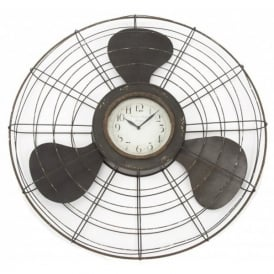 Gifts For Aviators Propeller Large Wall Clock