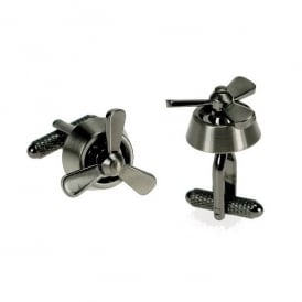 Propeller Rotating Cufflinks