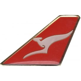 Quantas (Flying Kangaroo) Tail Pin Badge