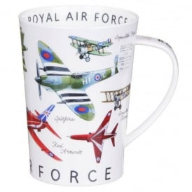 RAF Armed Forces Argyll Fine China Mug