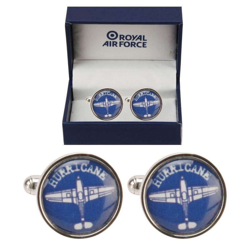 RAF Blueprint Hurricane Cufflinks