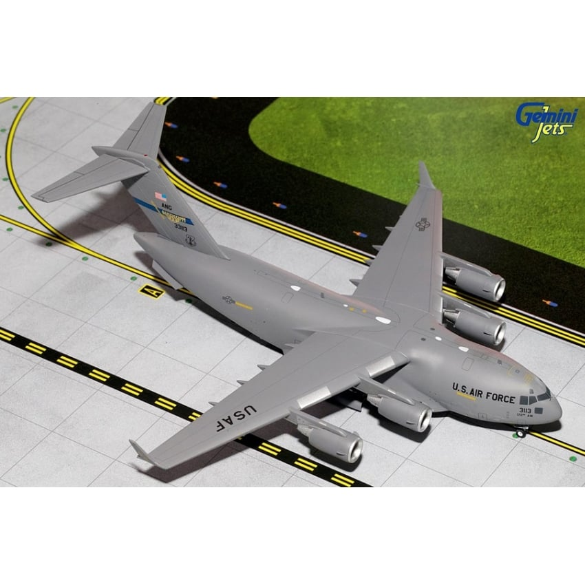 RAF C-17 Globemaster 99 Sqd Years ZZ176 Diecast Model - Scale 1:400