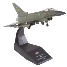 RAF Eurofighter Typhoon F.2 2008 Diecast Model - Scale 1:100