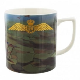 RAF Gold Wings Commemoration China Mug