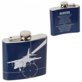 RAF Hawker Harrier Hipflask