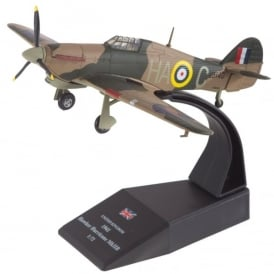 RAF Hawker Hurricane Mk.HB 1941 Diecast Model - Scale 1:72