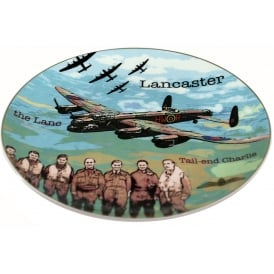 RAF Lancaster Crown Trent Bone China Plate