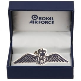 RAF Large Wings Pin Badge