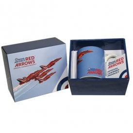 RAF Red Arrows 5 Planes China Mug