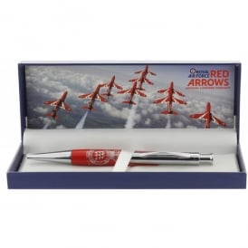 RAF Red Arrows - Team Crest Biro Pen in Gift Box