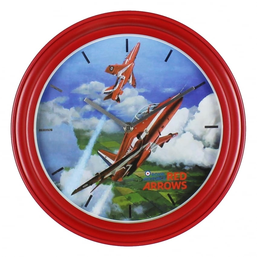 Red Arrows Wall Clock