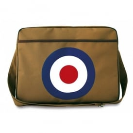 LogoBags RAF Roundel Canvas Sports Bag in Brown