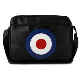 RAF Roundel Sports Bag in Black