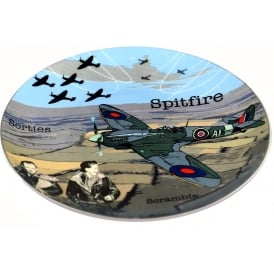 RAF Spitfire Crown Trent Bone China Plate