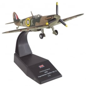 RAF Spitfire Mk Vb 1941 Diecast Model - Scale 1:72