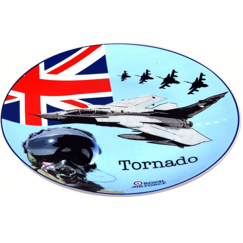 RAF Tornado Crown Trent Bone China Plate