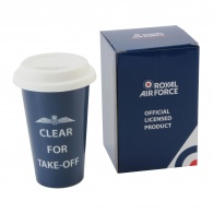 RAF Travel Mug - Clear for Take Off