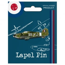 RAF Vintage Pin Badge - Hurricane