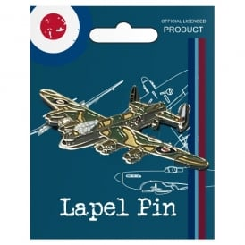 RAF Vintage Pin Badge - Lancaster
