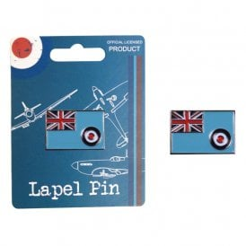 RAF Vintage Pin Badge - RAF Ensign