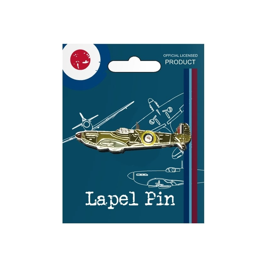 Vintage Pin Badge - Spitfire