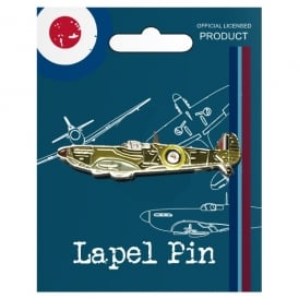 RAF Vintage Pin Badge - Spitfire
