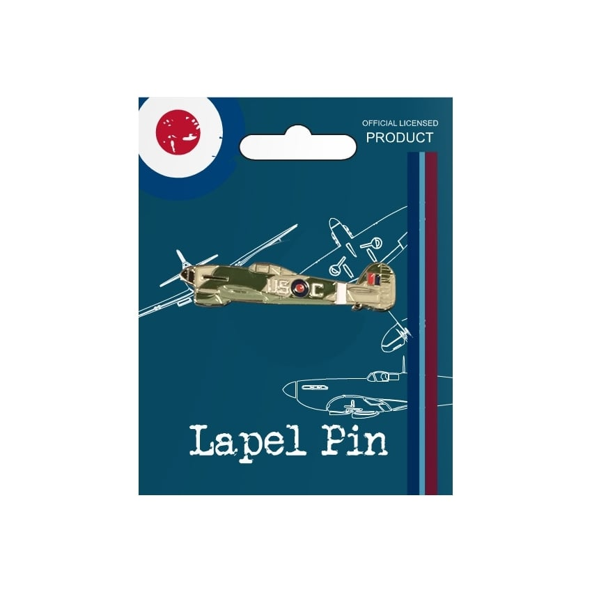 Vintage Pin Badge - Typhoon