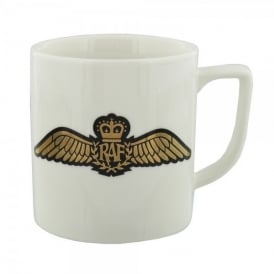 RAF Wings White China Mug