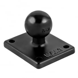 "Ram 2"" X 1.7"" Adapter / Base with 1"" Ball and AMPS Pattern"