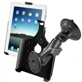 Ram iPad Holder and Suction Mount Bundle - iPad 2-4