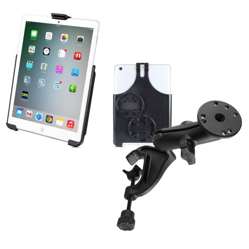 Ram iPad Mini (1-3) Holder and Yoke Mount Bundle