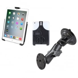RAM Mounts Ram iPad Mini Holder & Suction Mount Bundle