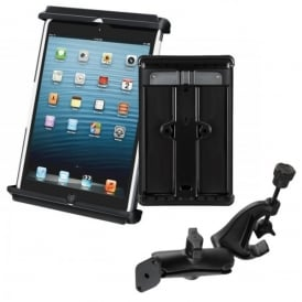 RAM Mounts Ram Tab-Tite iPad Heavy Duty Mini Holder with Yoke Mount Bundle