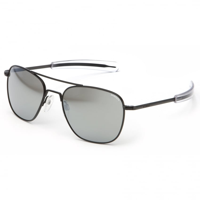 Aviators Black Bayonet - Grey Mirror Lens