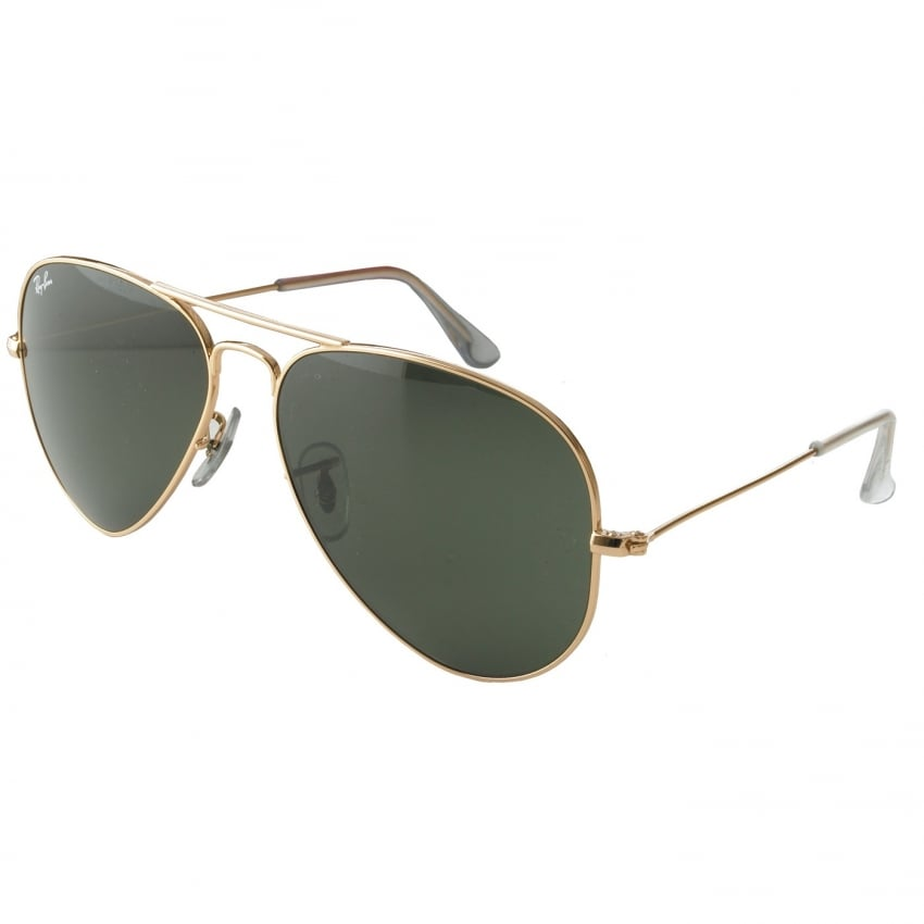 Aviators - Gold - 58mm G-15 Lens