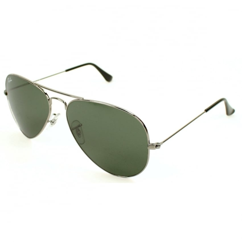 Aviators - Gunmetal - 58mm G-15 Lens