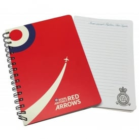 RAF Red Arrows A5 Spiral Notebook