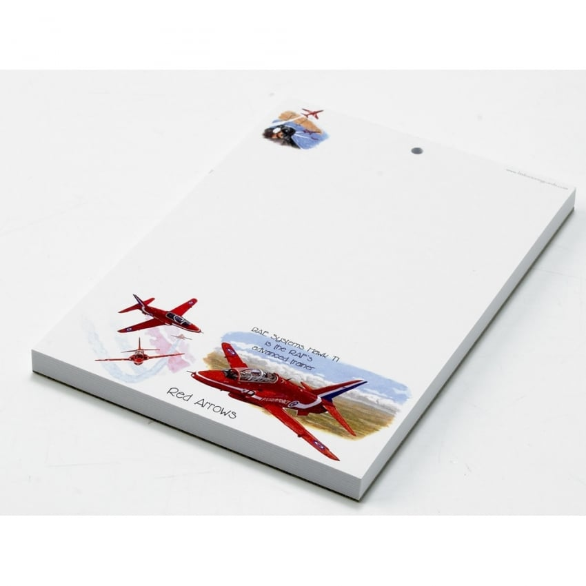 Red Arrows A6 Notepad