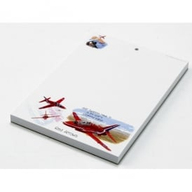 Little Snoring Red Arrows A6 Notepad