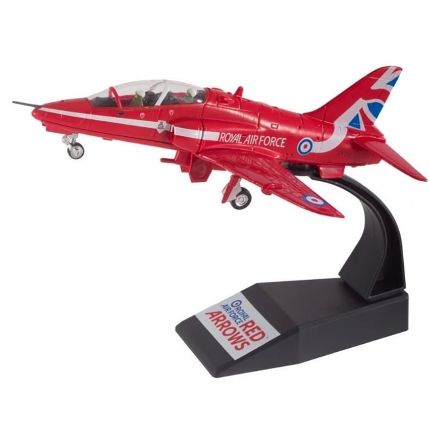 Red Arrows BAE Hawk 1984 Diecast Plane Diecast Model - Scale 1:144