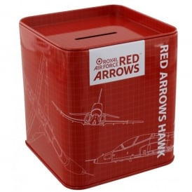 Red Arrows Blueprint Money Box