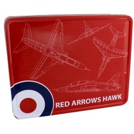 Red Arrows Blueprint Storage Tin