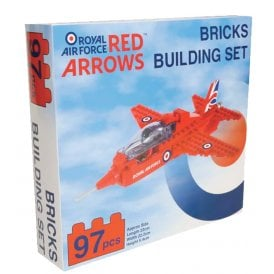Gifts For Aviators Red Arrows Brick Building Set