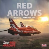 Red Arrows Calendar 2017
