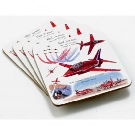 Little Snoring Red Arrows Coaster Set of 4