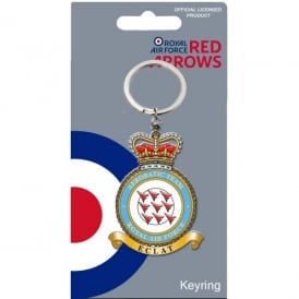 Red Arrows Crest Keyring