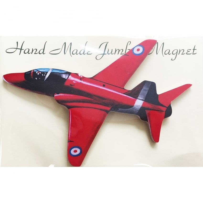 Red Arrows Cut Out Jumbo Fridge Magnet