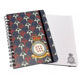 RAF Red Arrows Eclat A5 Spiral Notebook