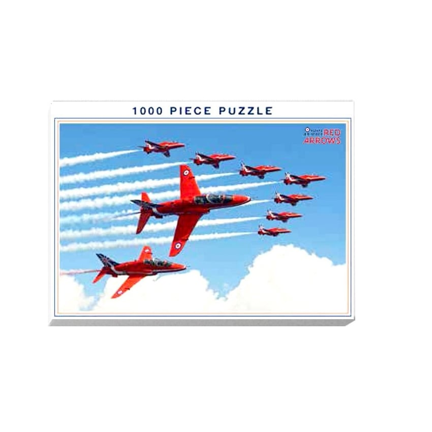 Red Arrows 'Formation' Jigsaw Puzzle (1000 pieces)